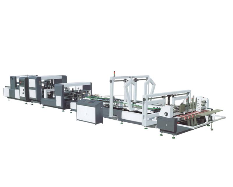 Paper Folder Gluer Machine