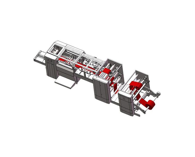 HRT-B250 Full Automatic High Speed Sharp Bottom Paper Bag Machine