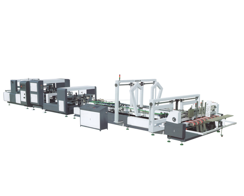 Carton Paper Folder Gluer Machine