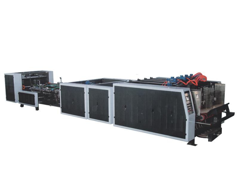 Double chip automatic four servo stitching machine