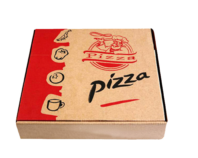 Custom Craft Paper Packaging Pizza Box