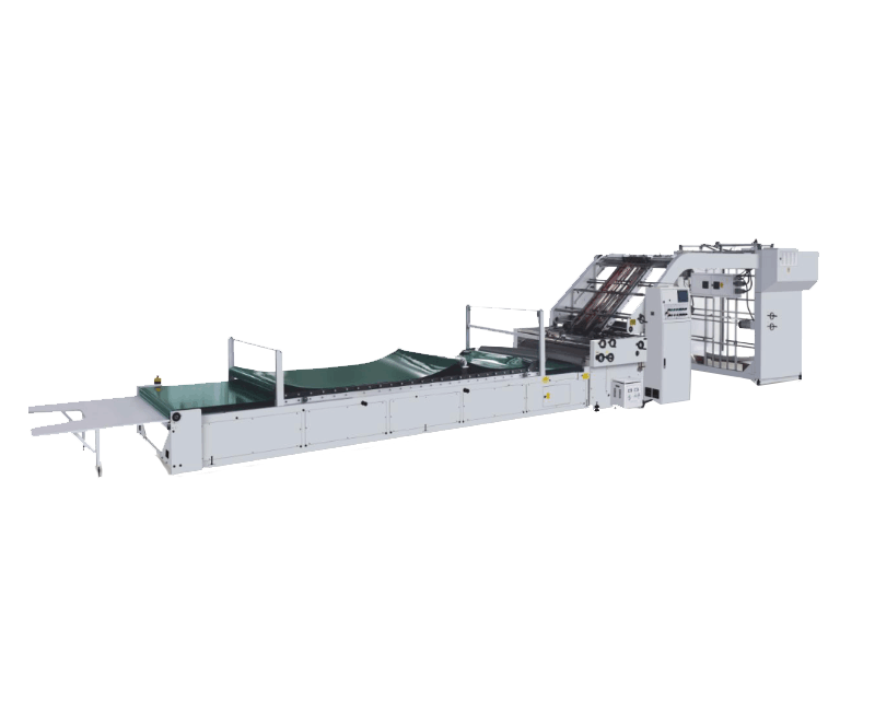Automatic Ultra high speed flute laminating machine