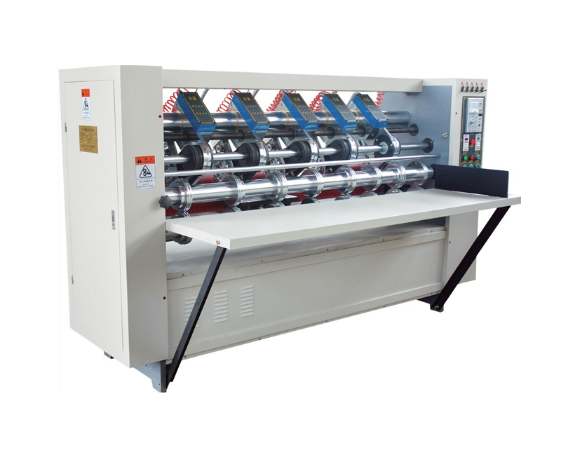 Thin knife slitting creasing carton machine