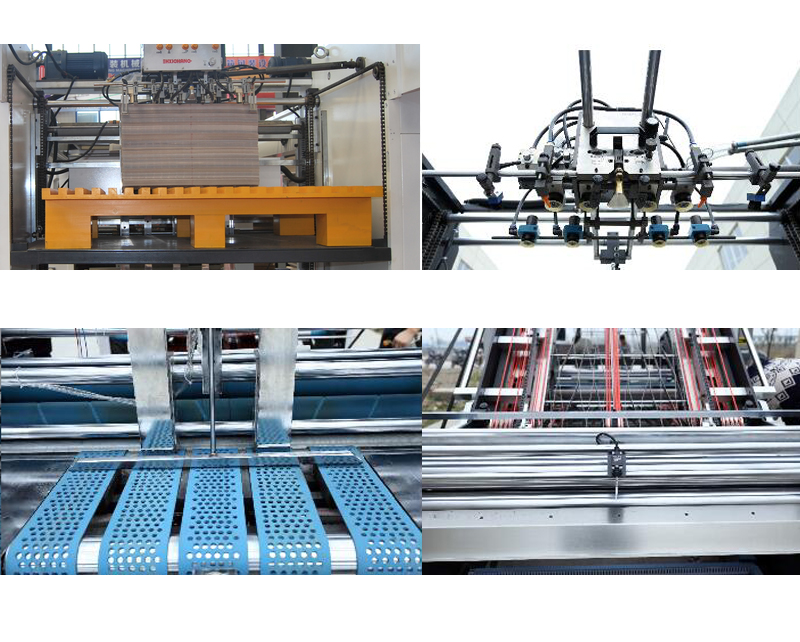 Semi-Automatic Flute Laminating Machine