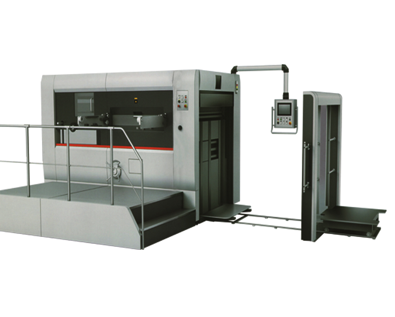 Automatic Lead edge feeding die-cutting and  creasing machine