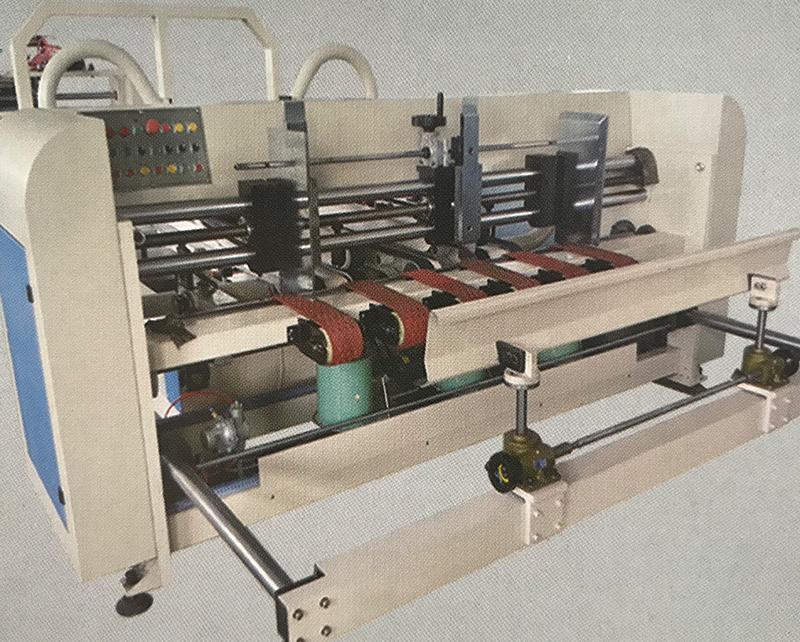 Semi-Automatic Carton Folder Gluer Machine