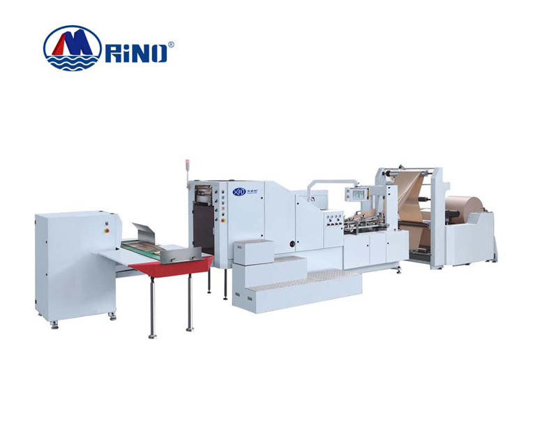 HRT-B330 AUTOMATIC HIGH SPEED SQUARE BOTTOM PAPER BAG MACHINE