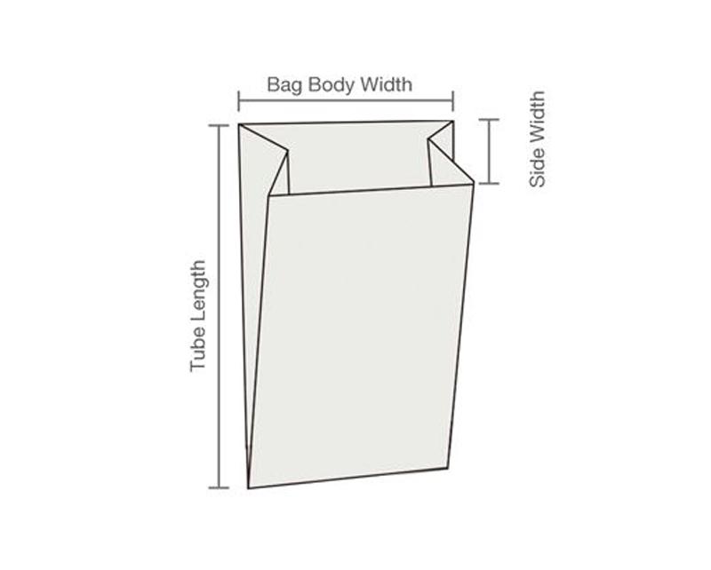 HRT-B350 Full Automatic High Speed Sharp Bottom Paper Bag with Plastic Window Making Machine