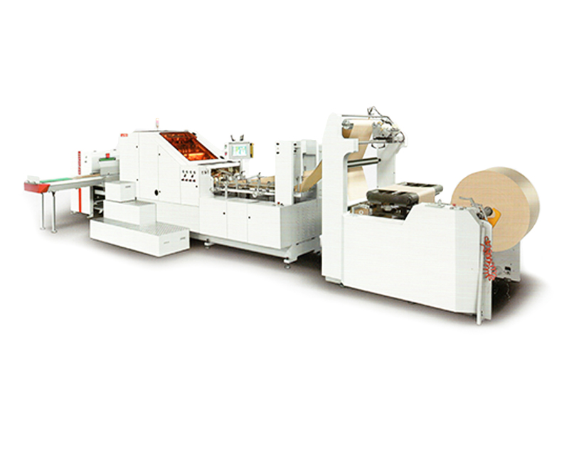 HRT-B450 AUTOMATIC HIGH SPEED SQUARE BOTTOM PAPER BAG MACHINE(2018 New Type)
