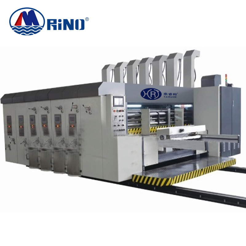 corrugated paperboard flexo printer small carton box corrugated flex flexo printing machine