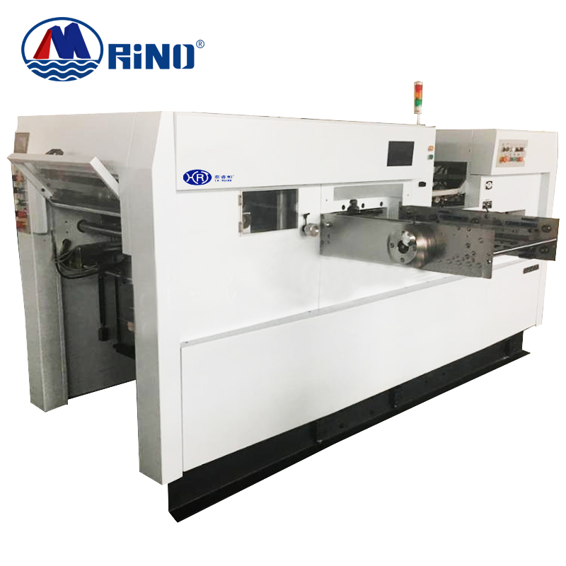 Automatic Corrugated Cardboard sheet Feeder feeding die-cutting and creasing machine