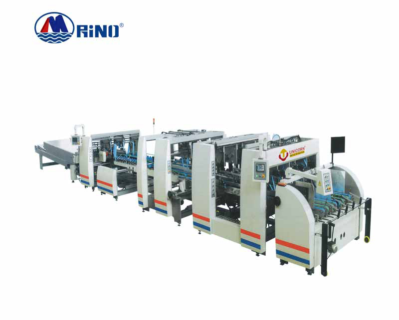Carton Paper Folder Gluer Machine