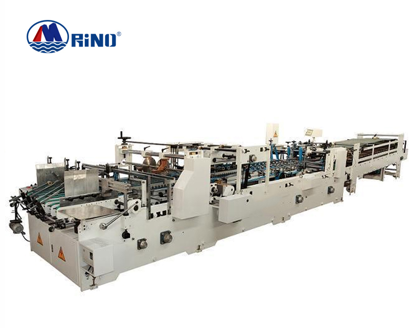 HRT Paper Folder Gluer Machine