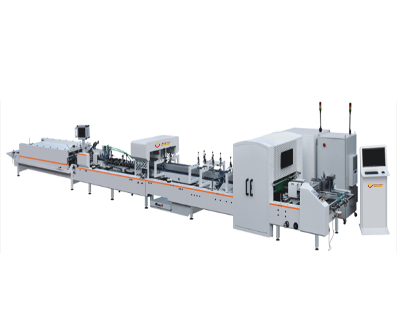 HRT Automatic Paper folder gluer machine