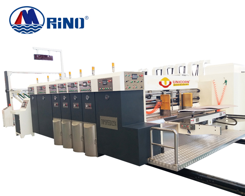 Corrugated cardboard/Lead edge feeding automatic flexo printing slotting machine