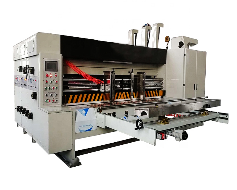 Automatic 2 Color Flexo Printing Machine Corrugated Box Carton Machinery