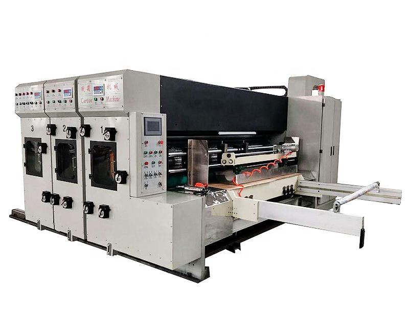 Automatic 2 Color Flexo Printing Machine Corrugated Box Carton Machinery
