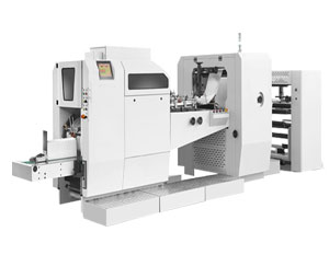 Sealing And Cutting Method For High Speed Paper Bag Machine