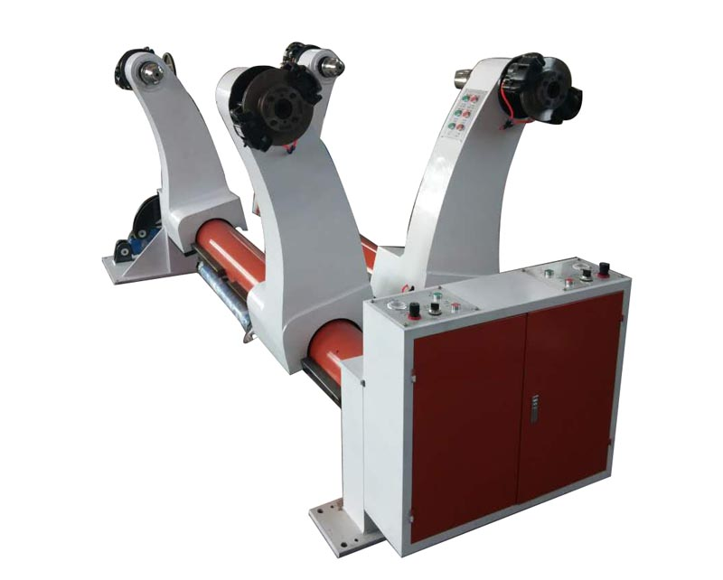 Hydraulic shaftless mill roll stand machine