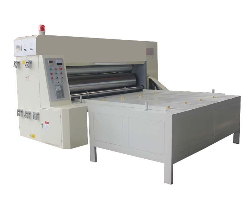 Two Color Chain Drive Feeder Flexo Printing Machine