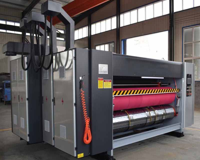 Lead Edge Feeding Flexo Printing Machine