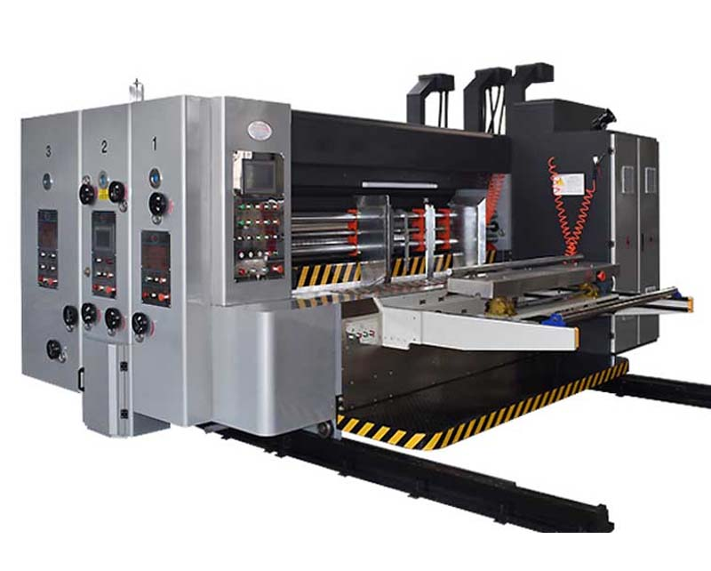 Lead Edge Feeding Flexo Printing Machine
