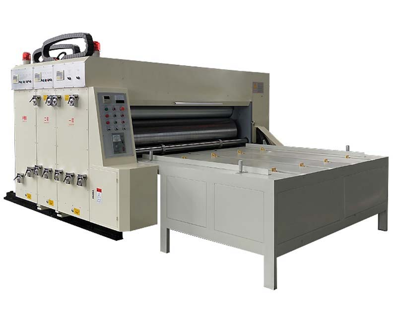 Two Color Chain Drive Feeder Flexo Printing Machine