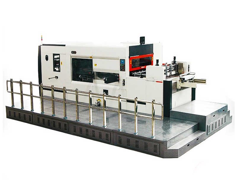 New Stylish Automatic Lead Edge Feeding Die Cutting And Creasing  Machine
