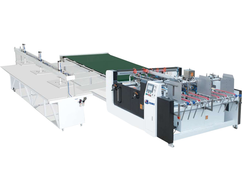 High-Speed Double Pieces Folder Gluer Machine