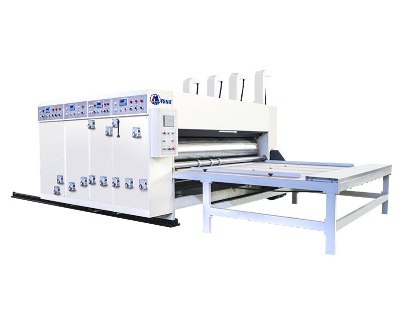 Chain Drive Feeder Flexo Printing Machine