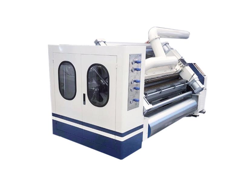 Single Face Corrugated Paper Making Machine