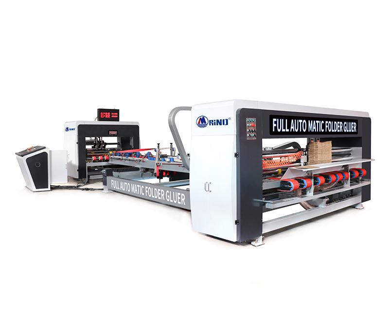 Carton Box Folder Gluer Machine