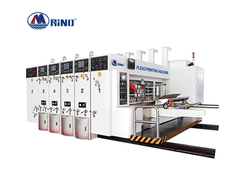 corrugated paperboard flexo printer small carton box corrugated flex flexo printing machine